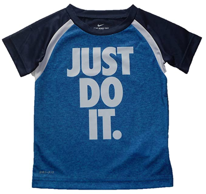 e88b95252 Image Unavailable. Image not available for. Colour: Nike Toddler T- Shirts  - Assorted Colors - Dri Fit - 100% Polyester (
