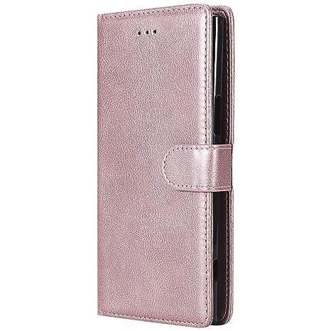 DENDICO Funda Sony Xperia XZ Premium, Ultra-Fina Flip Libro ...