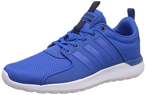 7ed164570221 adidas neo Men s Cloudfoam Lite Racer Blue and Conavy Sneakers - 12  UK India (