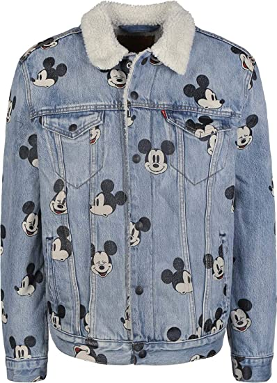Levis Chaqueta X Mickey Mouse Type 3 Sherpa Trucker Azul L (Large)