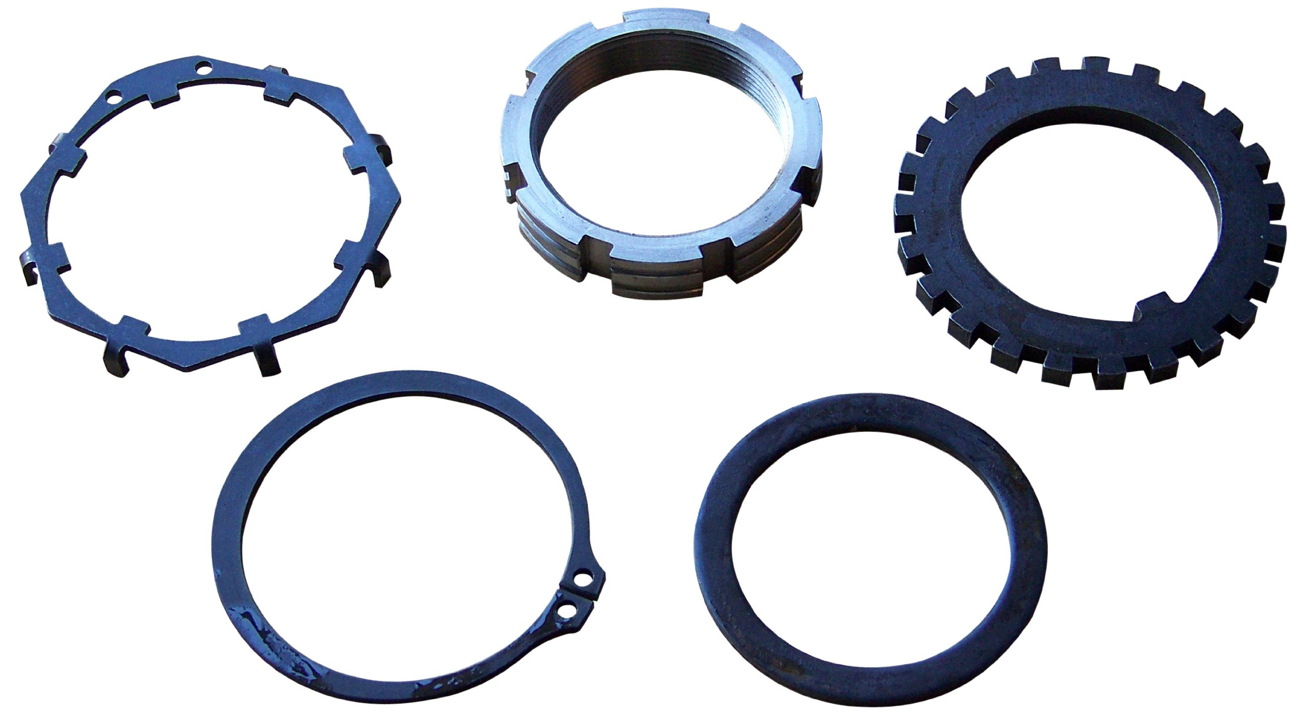 Stage 8 DNA-60 X-Lock Locking Spindle Nut Assembly for Dana 60, 70, 80 and GM Corporate 14 Bolt Spindles