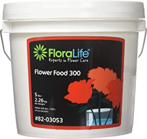 Smithers Floralife Crystal Clear Flower Food Powder for F