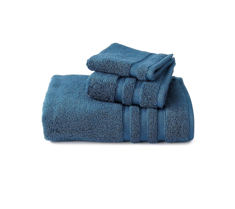 Amazoncom Casa By Victor Alfaro Signature Towel Collection Teal Bath