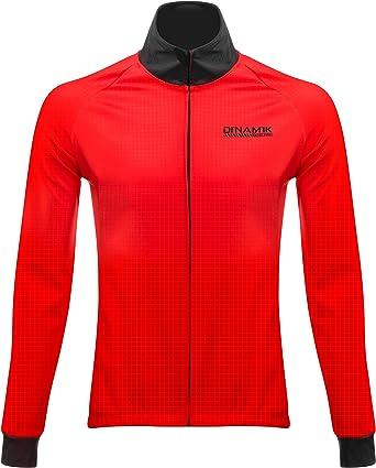 Breathable Reflective Windstopper Softshell Windbreaker Running Przewalski Men/'s Winter Thermal Cycling Bike Jacket