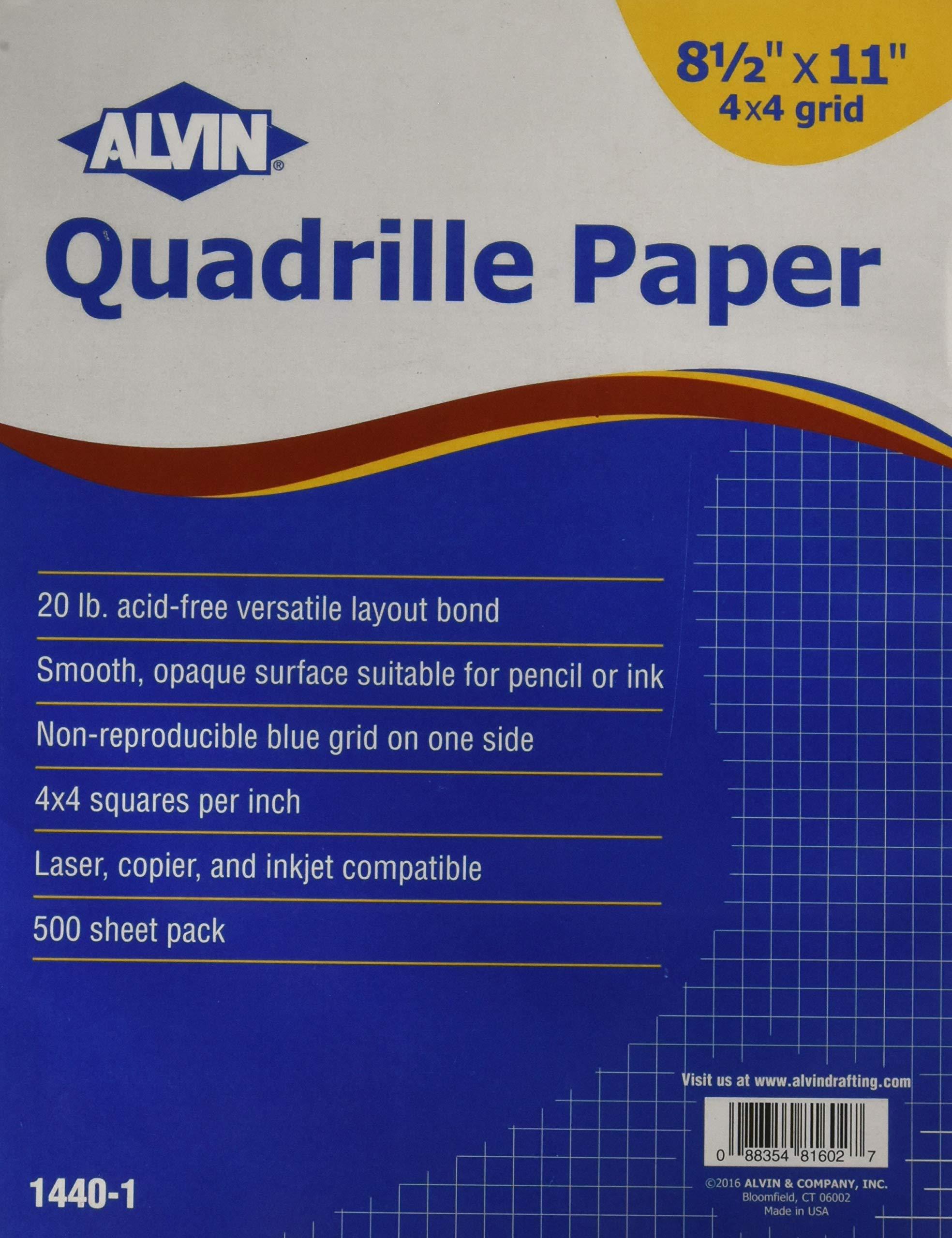 Alvin Paper Graph Paper (1440-1)