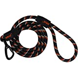 Kruz Reflective Dog Leash -KZROPE5048/5060 - Soft Silicone Grip with Click & Lock Snap - Walking, Running and Pet…