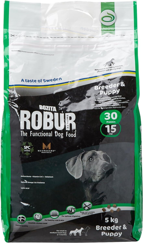 Bozita Robur Breeder & Puppy with Chicken 5 Kg: Amazon.es ...