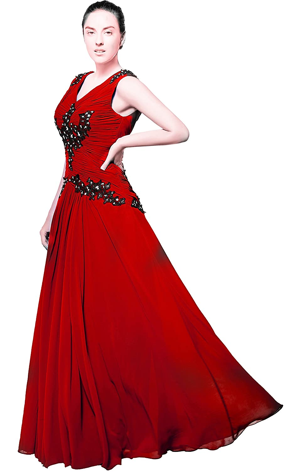 atopdress p09 Ball prom sequined gown evening dress party wear Bridemaids (8, wine): Amazon.co.uk: Clothing