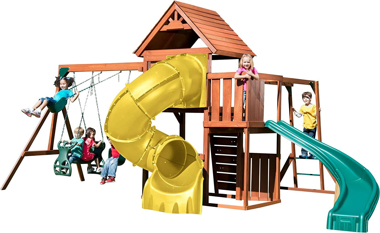 Top 7 Best Swing Sets For Older Kids Playing In Backyard (2020) 4