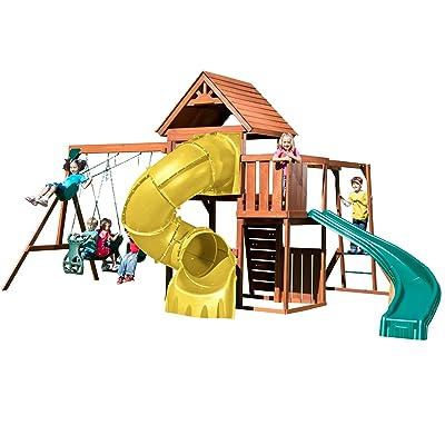 Swing-N-Slide PB 8272-TY Grandview Twist Deluxe Play Set