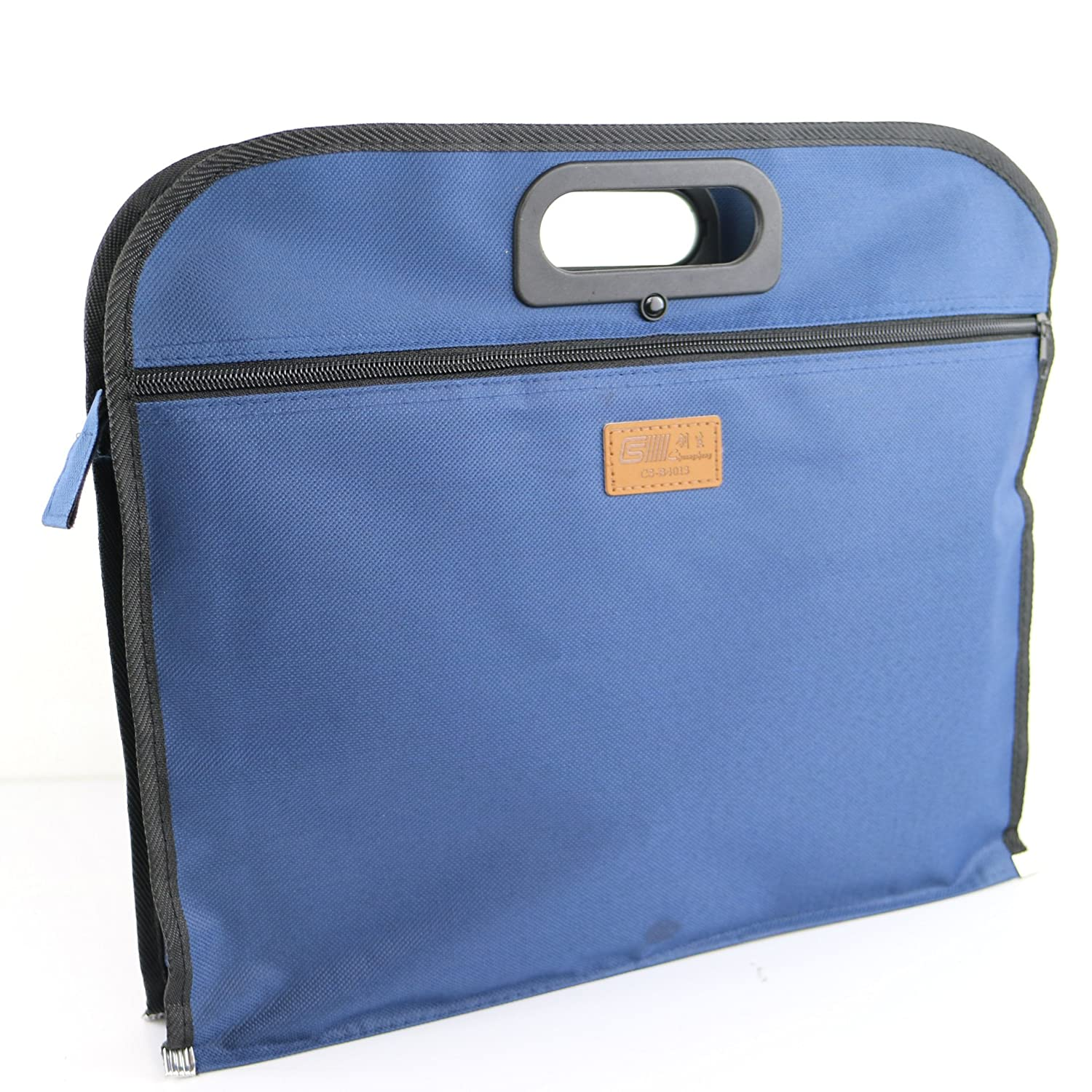 Tablets Business Documents holder Zipper Briefcase Bag for Mens Multi Purpose Usage Storing Files Folders iPad Documents