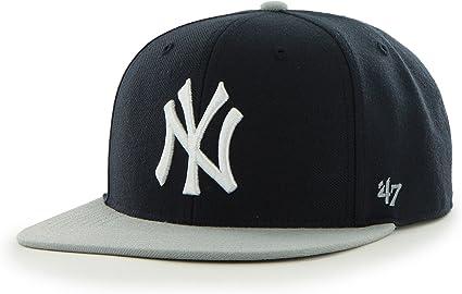 Cap 47 Brand Mlb New York Yankees Captain Snapback No Shot Black Men