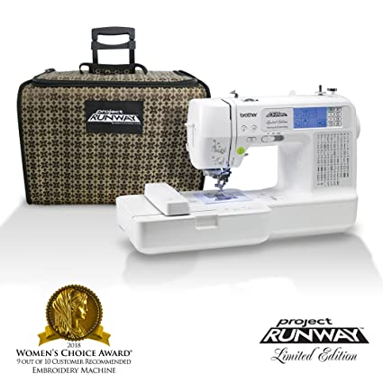 Amazon Brother LB40PRW Project Runway Computerized Embroidery Stunning Brother Embroidery Sewing Machine