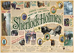 Cobble Hill Puzzles Sherlock 1000 Piece Pop Culture Jigsaw Puzzle