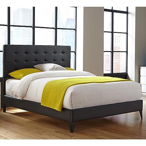 Incredible Amazon Com Leggett Platt Sullivan Platform Bed With Faux Creativecarmelina Interior Chair Design Creativecarmelinacom