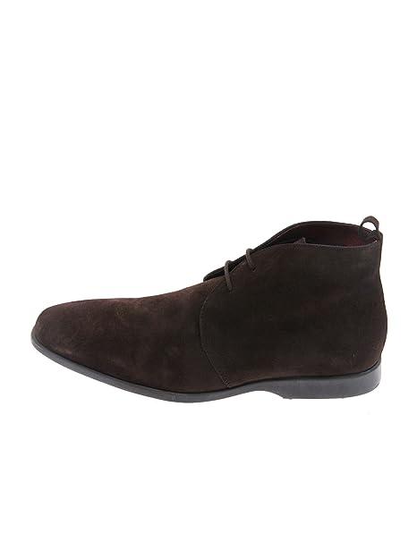 9219d654354 Pierre Cardin - Zapatos de Cordones de Piel para Hombre Marrón Marrón