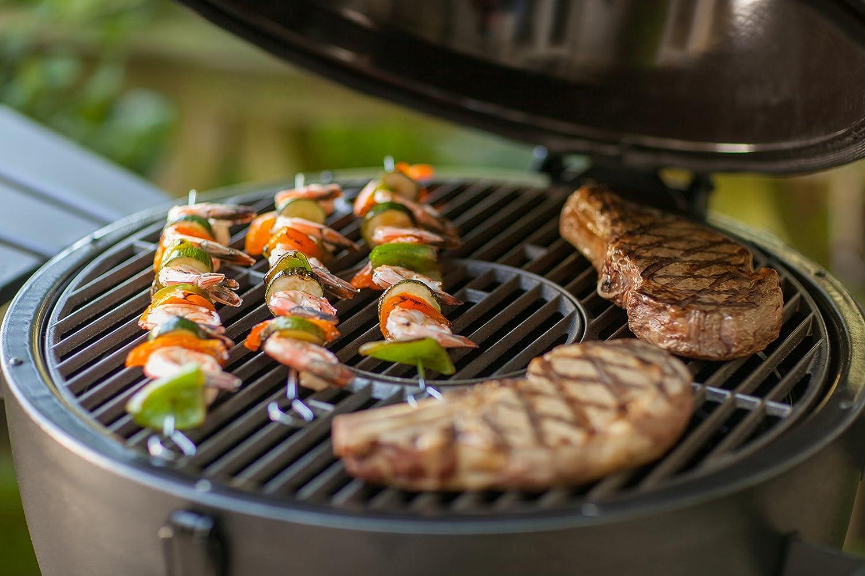 Char-Griller E16620 Akorn Kamado Kooker Charcoal Barbecue Grill and Smoker Black