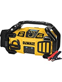 DEWALT DXAEPS2 Professional Power Station Jump Starter: 2800 Peak/1400 Instant Amps, 1000W Inverter, 120 PSI Air...