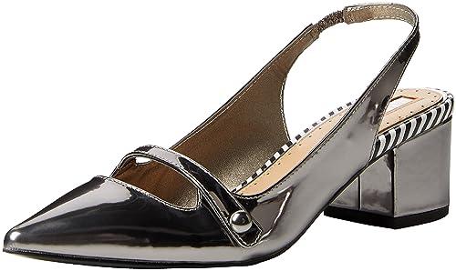 Miss KG 31654979, Zapatos de Tacón Mujer, Gris (Pewter), 40 EU