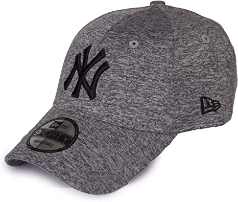 New Era NY Yankees 940 Gorra, Hombre, Gris (Grey/Black), OSFA ...
