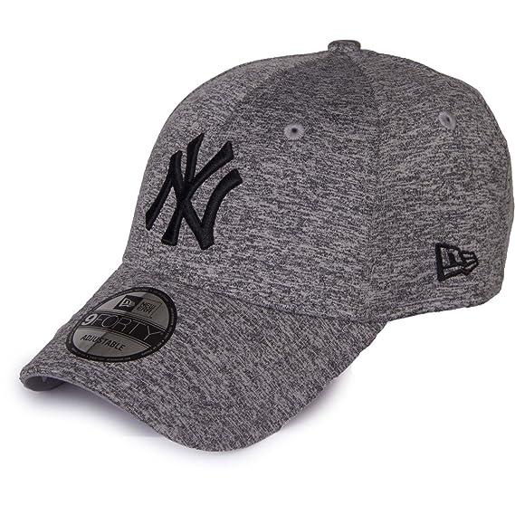 0657e0b3e7013 New Era 9forty New York Tech Jersey Gris Casquettes Accessoires: Amazon.fr:  Vêtements et accessoires