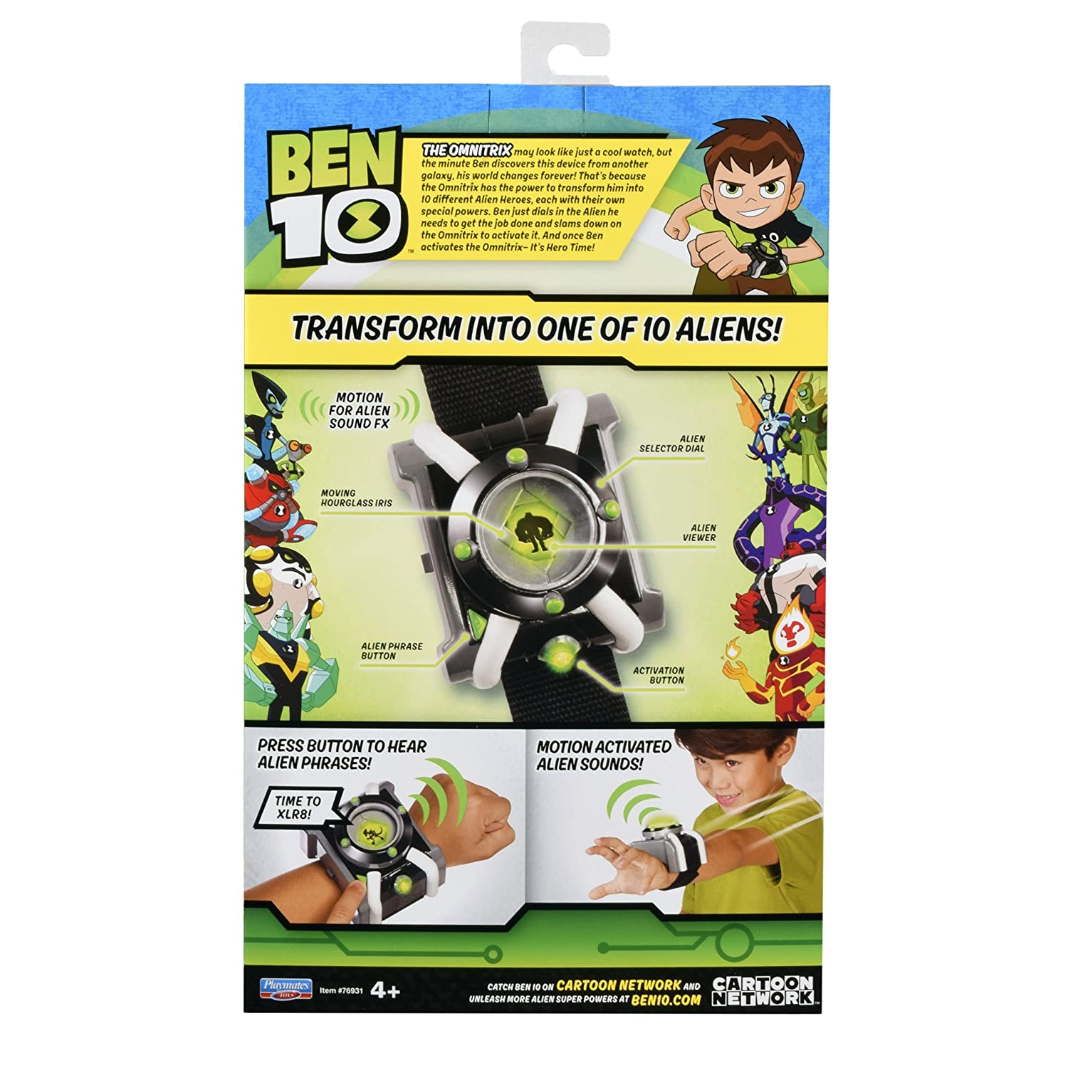 Amazon.com: Ben 10 Deluxe – Omnitrix: Baby