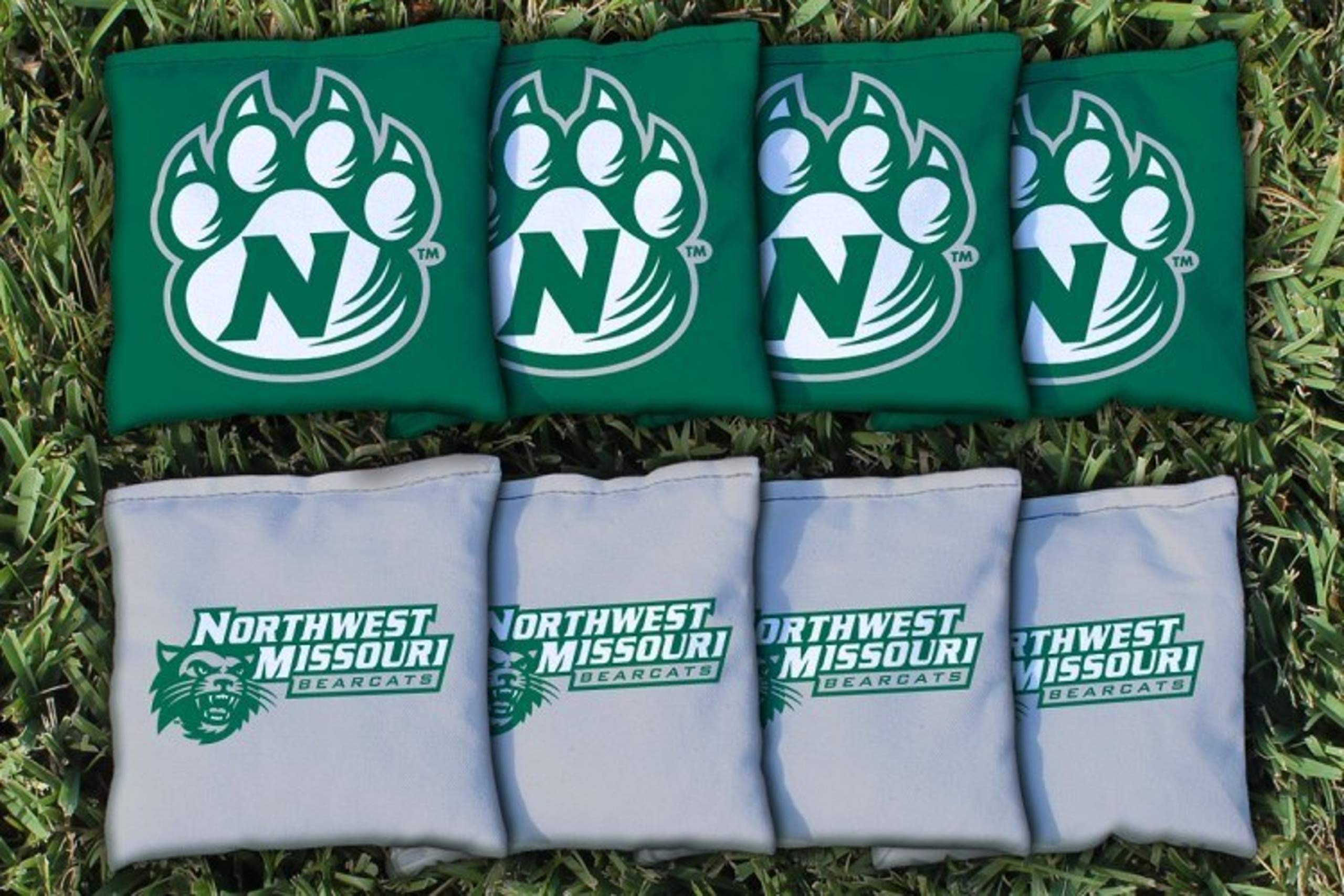 Victory Tailgate NCAA Collegiate Regulation Cornhole Game Bag Set (8 Bags Included, Corn-Filled) - Northwest Missouri State Bearcats by Victory Tailgate