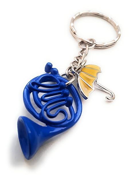 halo accessories Horn & Umbrella - Llavero con Texto en ...
