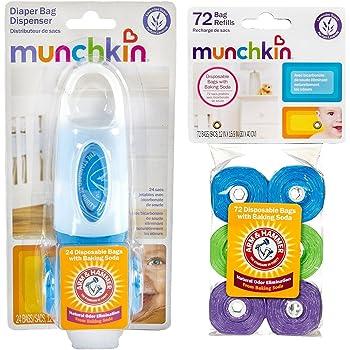 Amazon.com: Munchkin Arm and Hammer Diaper Bag Dispenser