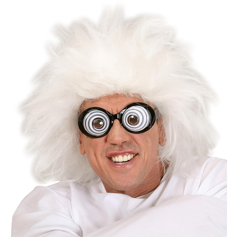 Taille unique blanc Widmann vd-wdm6382l perruque lunatique en sachet