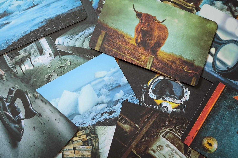 Fr/ühst/ücksbrett Sylt Fotografie Brettchen aus Melamin Schneidebrett 14 x 23 cm sp/ülmaschinenfest