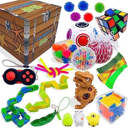25 Pack Fidget Toys Set Sensory Tools Bundle Stress Relief Hand Kids Adults Toys