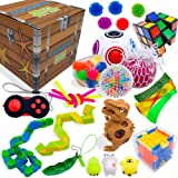 Sensory Fidget Toys Set, Fidget Toys for Adults and Kids, Stress Relief and Anti Anxiety Toys, Cool Fidget Toys Set 25…