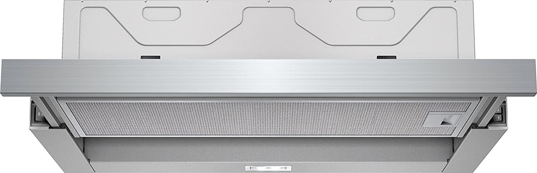 Siemens LI64MB520 De pared Plata 400m³/h B - Campana (400 m³/h, Canalizado/Recirculación, C, A, B, 68 dB) iQ100