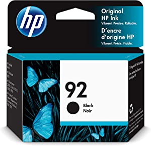HP 92 | Ink Cartridge | Black | C9362WN