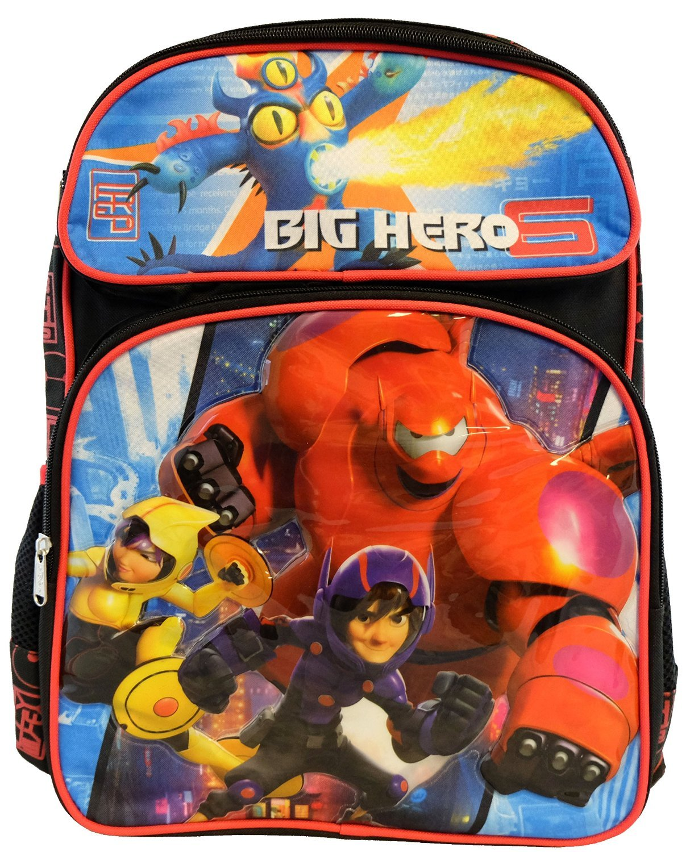 Backpack - Big Hero 6 - Hiro and Bamax School Bag New 653170 by Big Hero 6   B011Z4SYT8