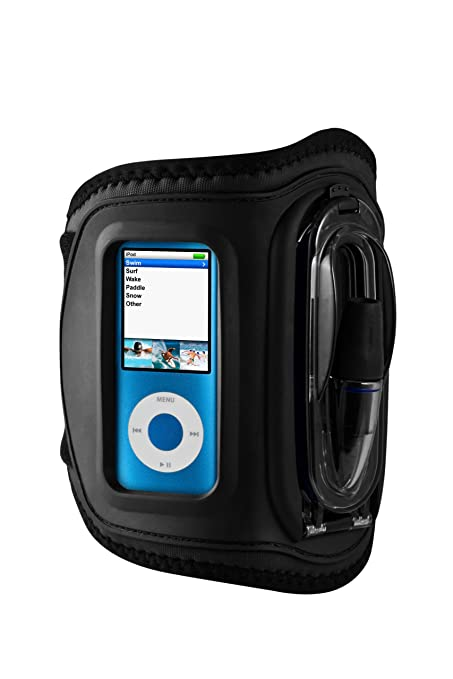 sports shoes 52698 41f59 H2O Audio Amphibx Waterproof Armband for iPod nano, Medium MP3 Players and  Phones (Discontinued by Manufacturer)