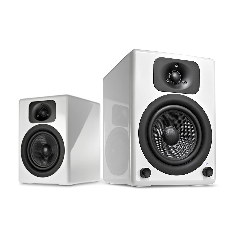 Wavemaster TWO BT Stereo Regal Lautsprecher mit Bluetooth Audio Streaming aptX weiß Amazon Audio & HiFi