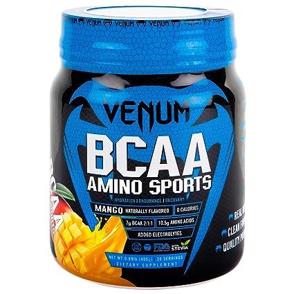 Venum BCAA Aminoácidos, 30 raciones, Sabor Mango - 405 gr