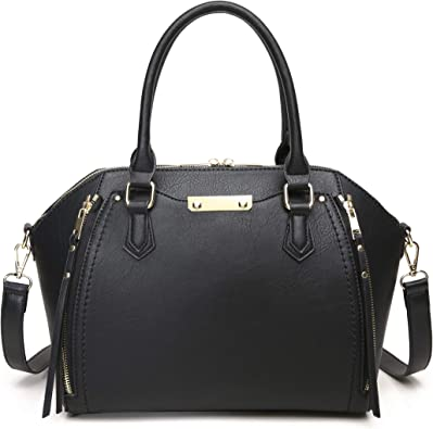 Aitbags Purses and Handbags for Women Tote with Shoulder Strap Big Crossbody Bag Black: Handbags: Amazon.com