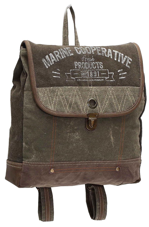 Amazon com: Myra Bags Marine Cooperative Upcycled Canvas
