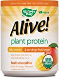 Nature's Way Alive! Plant Protein Organic Smoothie Tropical Mango