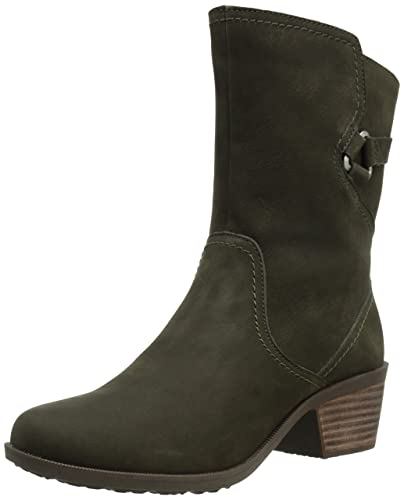 Teva Foxy Mid Women's Ankle Boots Black Olive