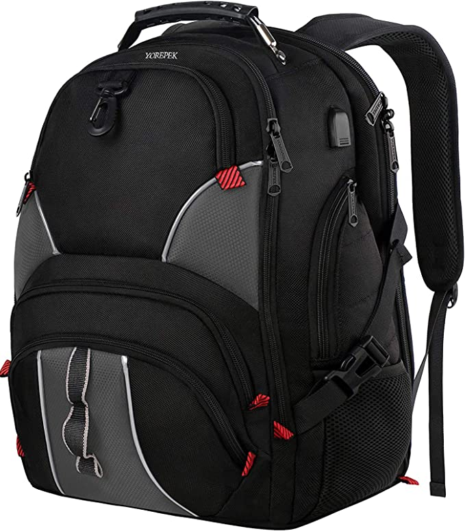 AUUXVA Backpack Bird Parrot Art Durable Laptop Travel Shoulder Bag Hiking for Women Girls Men Boys