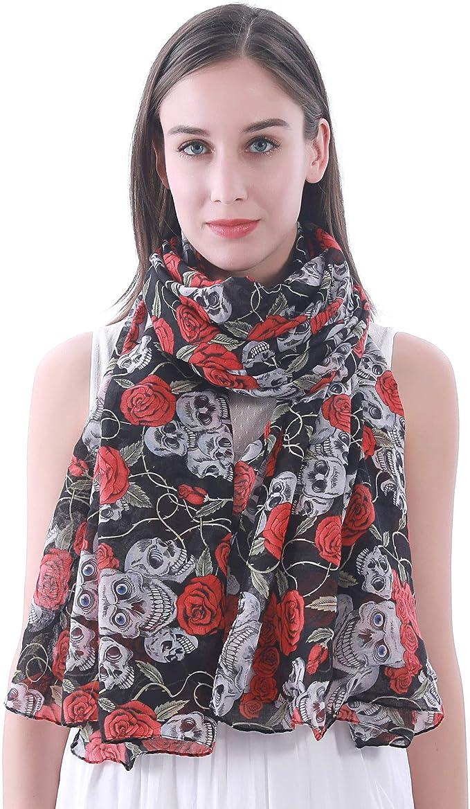 Acheter foulard echarpe bandana tete de mort online 11