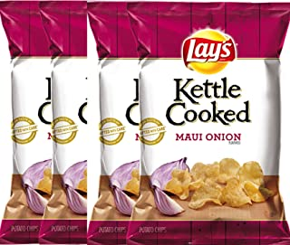 product image for LAY'S Kettle Cooked Maui Onion Flavored Potato Chips 8 Oz (4)