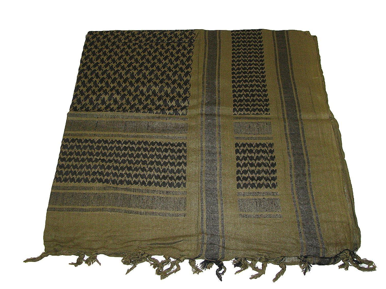 Military Army SAS Style Arab Shemagh Keffiyeh Cotton Desert Tactical Shawl Scarf