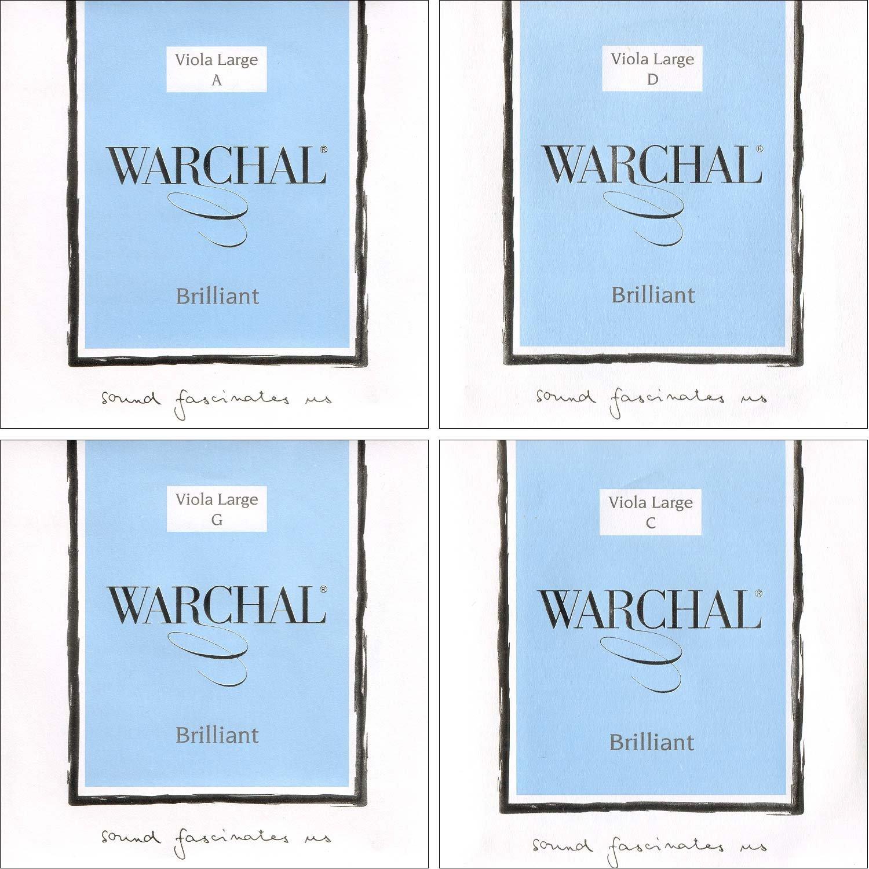 Warchal Brilliant 16''-17'' Viola Set - Medium Gauge