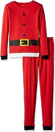 Carters Baby Boys Red Santa Suit Cotton Pajamas