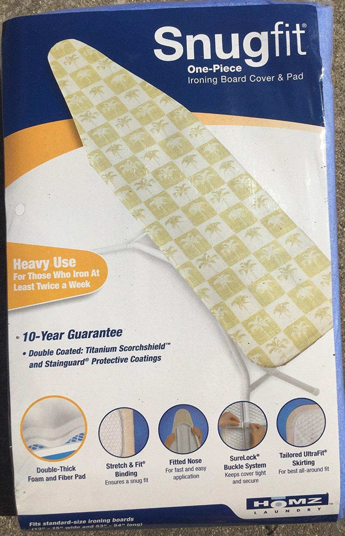 J&J Home Fashion Heavy Use Ironing Board Cover and pad JJ home fashion AX-AY-ABHI-13544